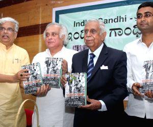 "Jairam Ramesh releases Kannada version of ""Indira Gandhi: a Life in Nature"