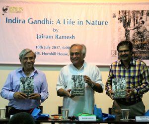 "Jairam Ramesh releasees ""Indira Gandhi: A Life in Nature"
