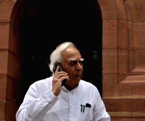 Parliament- Kapil Sibal
