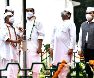 74th Independence Day celebrations at Congress headquarters