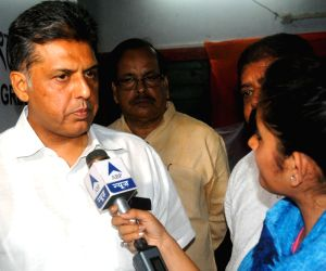 Manish Tiwari talk to press