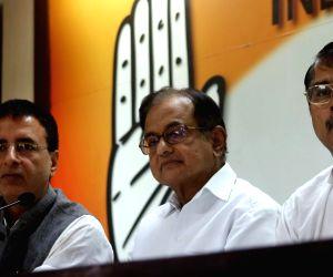 P Chidambaram's press conference
