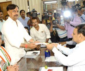Premchand Mishra files nomination papers for Bihar Legislative Council polls