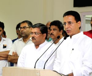 Randeep Singh Surjewala's press conference