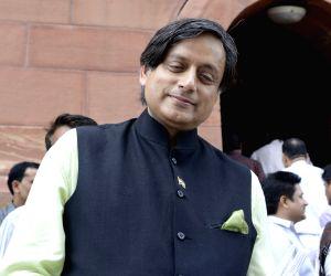 Ruckus in Lok Sabha as Tharoor says democracy betrayed