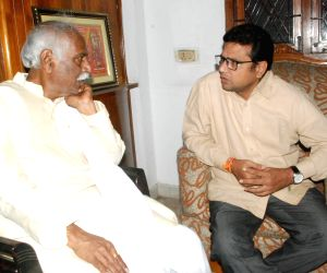 Politicians pay condolences to Bandaru Dattatreya's late son Vaishnav