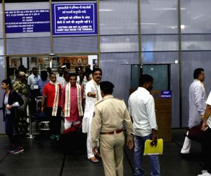 Congress MLAs return in Gujarat