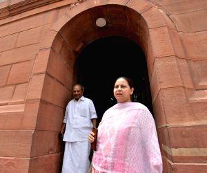 Parliament - A. K. Antony, Misa Bharti