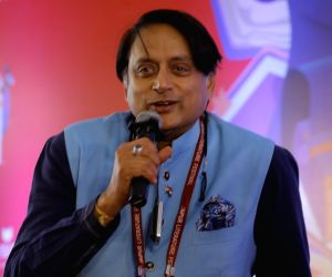 Shashi Tharoor on Day 2 of Jaipur Literature Festival