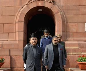 Parliament - Ghulam Nabi Azad, Anand Sharma