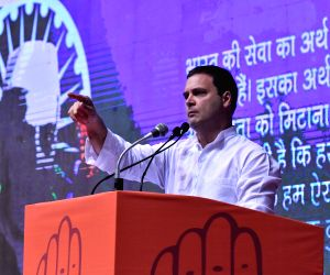 Rahul Gandhi launches 'Save the Constitution' campaign