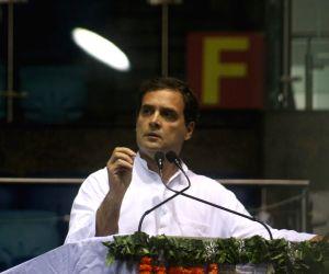 Rahul hails people of Suntikoppa as oasis of hope