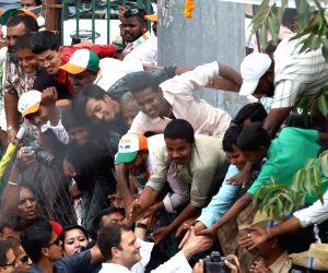 Congress rally - Rahul Gandhi