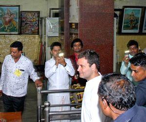 Rahul Gandhi visits Dodda Basavana Gudi temple