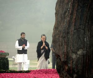 Leaders pay tributes to Indira Gandhi on her 31st death anniversary