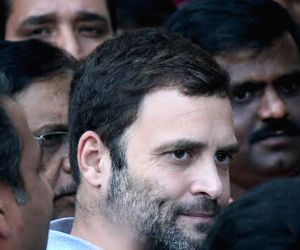 Rahul Gandhi at Mount Carmel