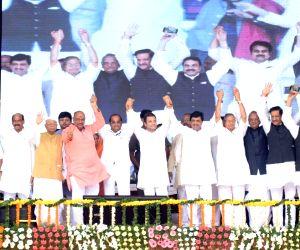 Nanded (Maharashta): Farmers rally - Rahul Gandhi