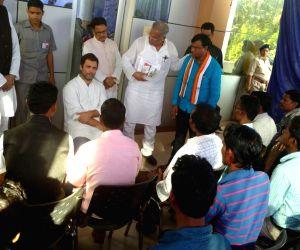 Bastar(Chhattisgarh): Rahul Gandhi visits Bastar