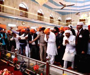 Rahul Gandhi visits Gurudwara Paonta Sahib