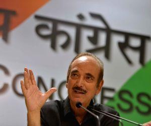 Ghulam Nabi Azad's press conference