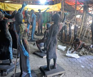 Preparations underway for Durga Puja celebrations