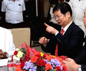 CM Siddaramaiah meets Liu Youfa and delegation