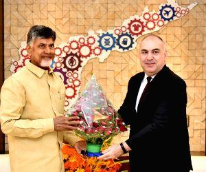Turkey Ambassador Adnan Altay Altinors meets Andhra CM Chandrababu Naidu