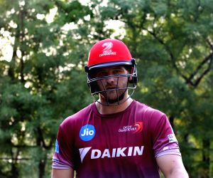 IPL 2017 - Delhi Daredevils - Practice Session - Corey Anderson