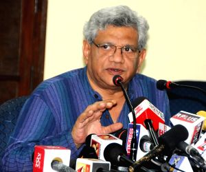 Sitaram Yechury's press conference