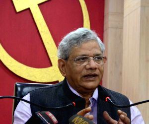 Yechury's press conference