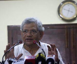Sitaram Yechury's press conference