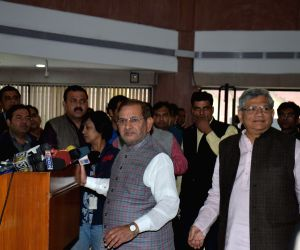 Sharad Yadav's press conference