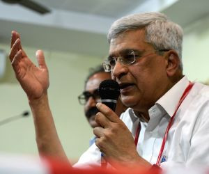 Prakash Karat's press conference