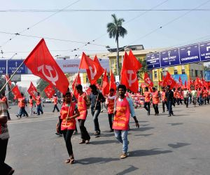 CPI(M) rally against WB Govt.