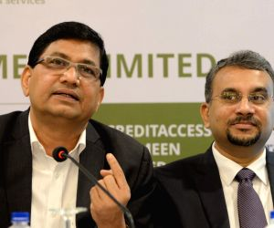 CreditAccess Grameen press conference