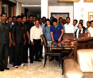 Sachin Tendulkar celebrates his birthday