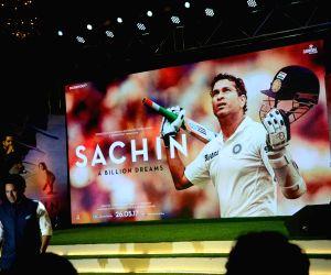 "Music launch of ""Sachin: A Billion Dreams"