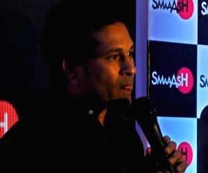 Sachin Tendulkar ​at launch of  SMAAASH Delhi