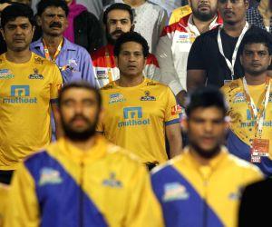 Pro Kabaddi League 2017 - Puneri Paltan vs Tamil Thalaivas  - Sachin