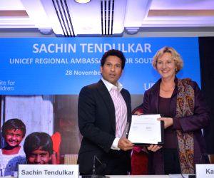 Cricket legend Sachin Tendulkar becomes UNICEF Ambassador for South Asia