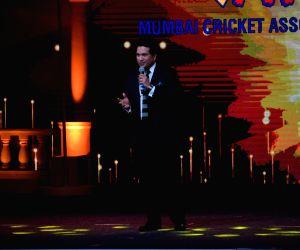 Cricket legend Sachin Tendulkar during T20 Mumbai Cricket League Opening Ceremony on March 10, 2018.