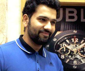 Rohit Sharma launches new range of Hublot watches