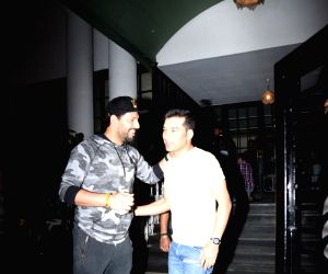 Yuvraj Singh seen at Juhu club