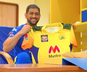 Free Photo:CSK unveils new, camouflage IPL jersey, a tribute to armed forces.