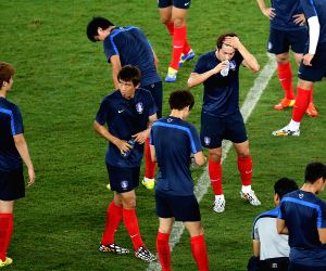 FIFA World Cup 2014 training session - Korea Republic