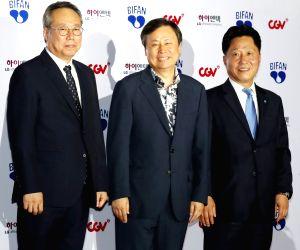 Culture Minister Do Jong-hwan at BIFAN opening