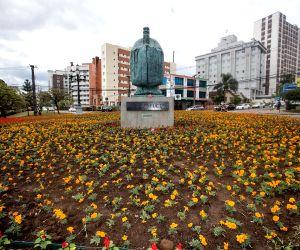 BRAZIL CURITIBA CONFUCIUS STATUE UNVEILING