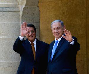 CYPRUS NICOSIA ISRAEL PM VISIT