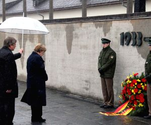 GERMANY DACHAU CONCENTRATION CAMP LIBERATION ANNIVERSARY