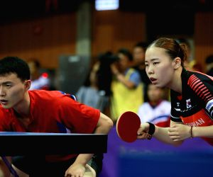 SOUTH KOREA-DAEJEON-TABLE TENNIS-KOREA OPEN